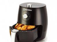 Friteuză cu aer cald, Home Vero Air Fryer, 2 5 L, 1500 W, neagră